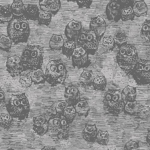 Wonderland Owly Boo Knit - Art Gallery Fabric