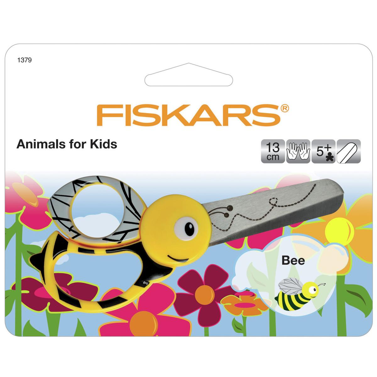 fiskars animal kids scissors various designs habbydays
