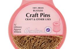 Craft Pins: Brass 20mm